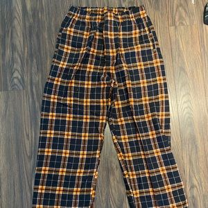 NWOT Boxercraft flannel pants with pockets